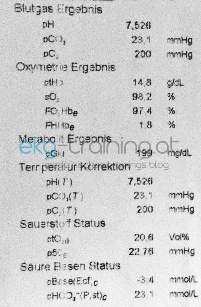 Notarztwagen: Einschnürende Schmerzen - EKG Training